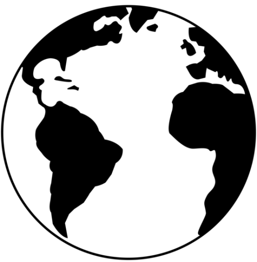 deprivation-clipart-planet_earth_black_white